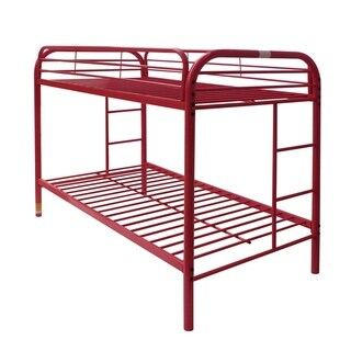 Thomas Red Metal Twin/Twin Bunk Bed