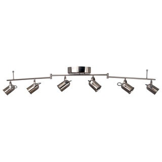 Catalina 19808-000 Nickel 6-light Integrated LED Track Luminaire