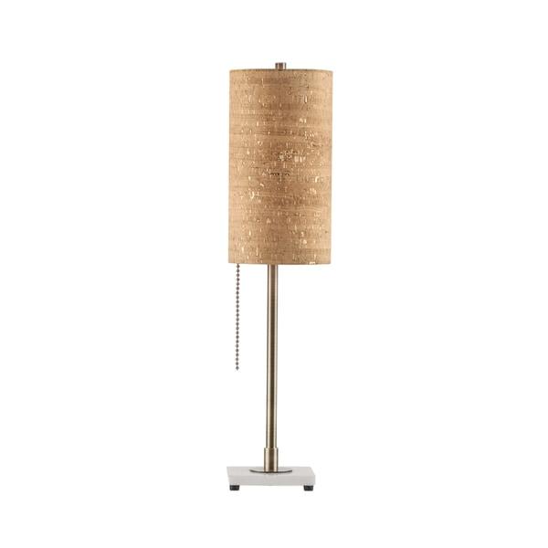 Lollipop Gold Steel 1-light Table Lamp