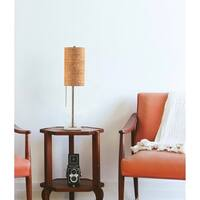 Lollipop Gold Steel 1-light Table Lamp