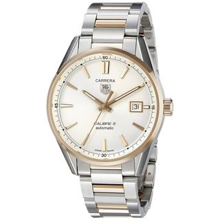 Tag Heuer Men's WAR215D.BD0784 'Carrera' Automatic Two-Tone Stainless Steel Watch