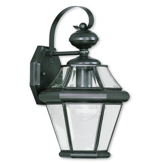 Livex Lighting Georgetown One-light Bronze Outdoor Wall Lantern
