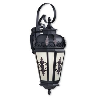 Livex Lighting Berkshire Bronze Brass 1-light Outdoor Wall Lantern