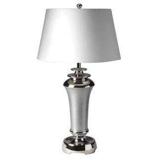Butler Silver Aluminum 1-light Table Lamp
