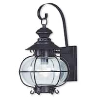 Livex Lighting Harbor Bronze 1-light Outdoor Wall Lantern