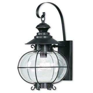Livex Lighting Harbor 1-light Bronze Outdoor Wall Lantern