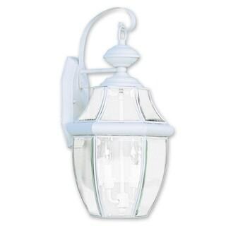 Livex Lighting Monterey White Two-light Outdoor Wall Lantern