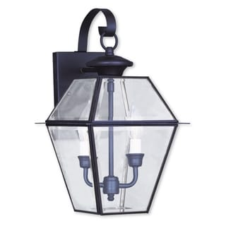Livex Lighting Westover 2-light Bronze Outdoor Wall Lantern