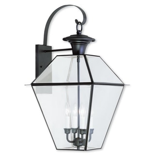 Livex Lighting Westover Bronze 4-light Outdoor Wall Lantern