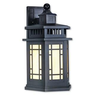 Livex Lighting Mirror Lake One-light Bronze Outdoor Wall Lantern