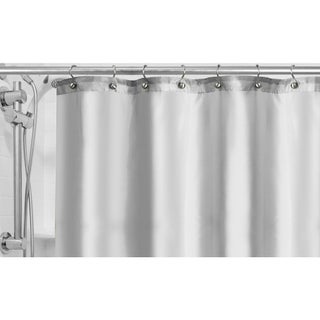Popular Bath Fabric Shower Curtain Liner (Option: white)