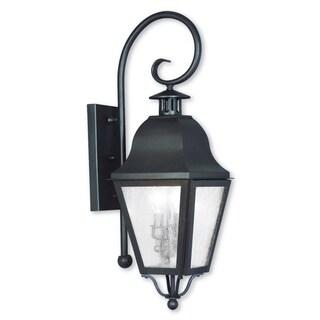 Livex Lighting Amwell Bronze 2-light Outdoor Wall Lantern