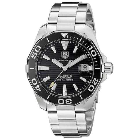 Tag Heuer Men's WAY211A.BA0928 'Aquaracer' Automatic Stainless Steel Watch