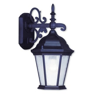 Livex Lighting Hamilton Bronze Aluminum 1-light Outdoor Wall Lantern