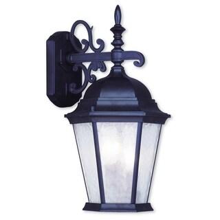 Livex Lighting Hamilton Bronze Aluminum 3-light Outdoor Wall Lantern