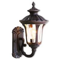 Livex Lighting Oxford Imperial Bronze 1-light Outdoor Wall Lantern