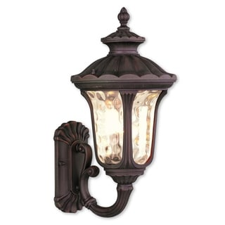 Livex Lighting Oxford Imperial Bronze 1-light Outdoor Wall Lantern