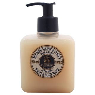 L'Occitane Shea Butter Ultra Rich Hand & Body Wash 10.1-ounce Body Wash