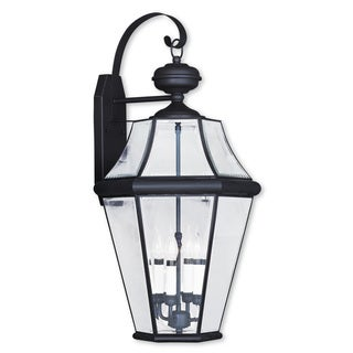 World Imports Cairns 4 Light Outdoor Wall Lantern