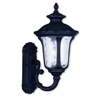 Livex Lighting Oxford Black 1-light Outdoor Wall Lantern