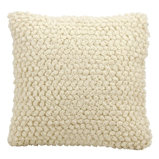 Link to The Curated Nomad Cantera Loops Ivory Throw Pillow (20-inch x 20-inch) Similar Items in Decorative Accessories