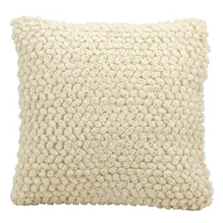 Mina Victory Lifestyle Thin Group Loops Ivory Throw Pillow by Nourison (20 x 20-inch)