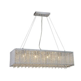 Bromi Design Crystalline Modern 8-light Crystal Chandelier