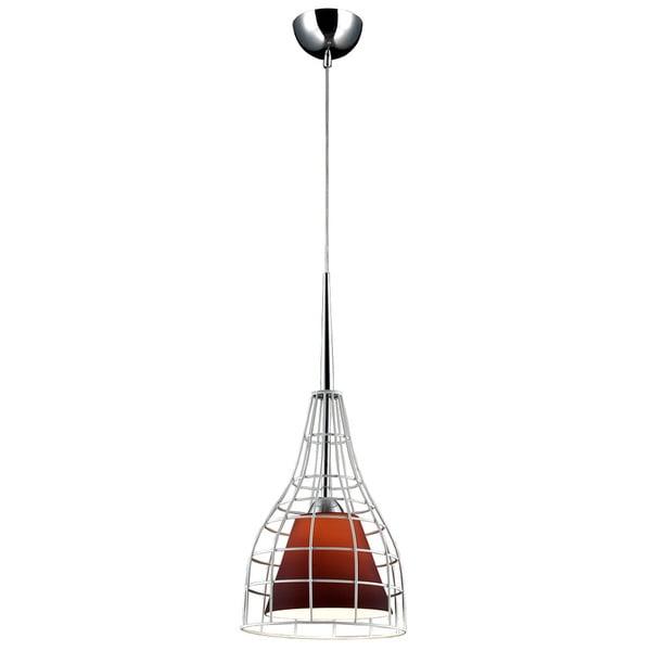 Nixon Purple Glass/Metal Lighting Pendant