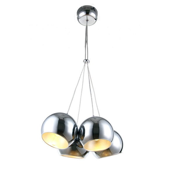 Bromi Design Wade Chrome 4-light Pendant