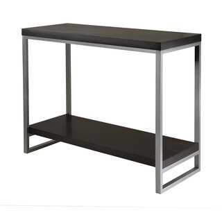 Winsome Jared Enamel Steel Tube Home Indoor Living Room Console Table