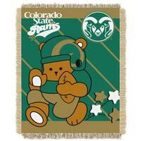 Colorado State Multicolor Acrylic Baby Blanket