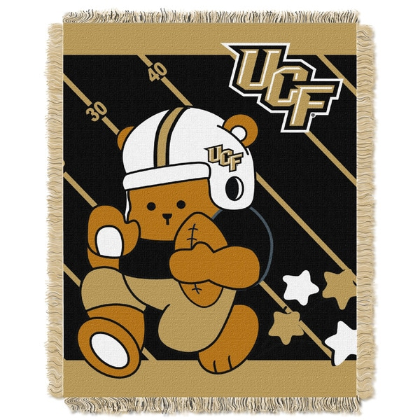 COL 044 Official Collegiate Central Florida Baby Blanket