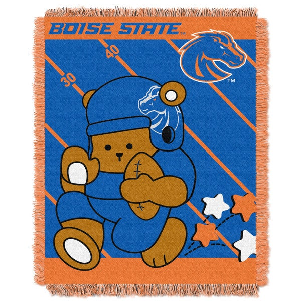 COL 044 Boise State Baby Blanket