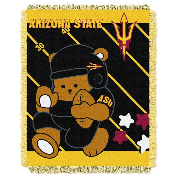 COL 044 Arizona State Multicolored Acrylic Baby Blanket