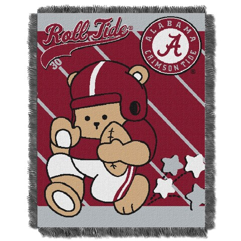 COL 044 Alabama Multicolored Acrylic Baby Blanket