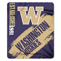 COL 031 Polyester Washington Painted Fleece Throw