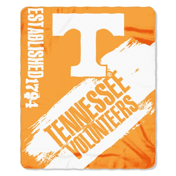COL 031 Tennessee Painted Fleece Throw