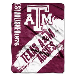 COL 031 Texas A&M Multicolor Polyester Painted Fleece