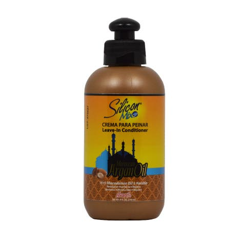 Silicon Mix Moroccan Argan Oil Leave-in 8-ounce Conditioner