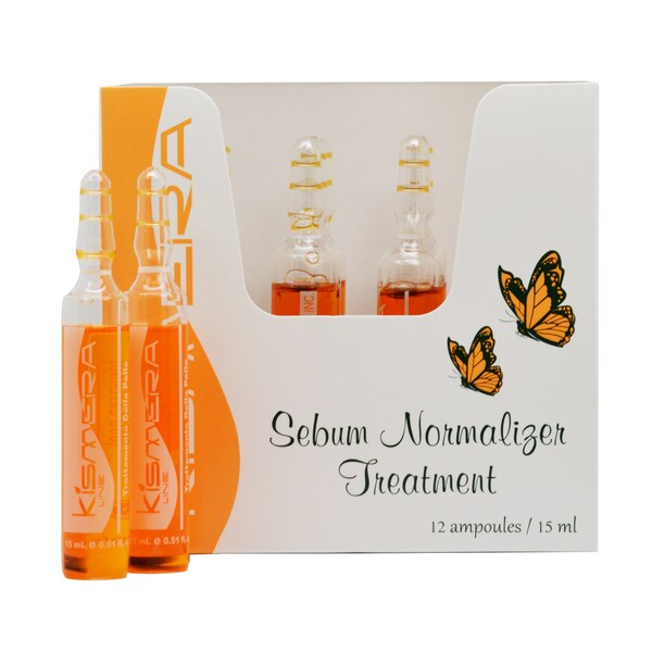 Kismera 15-milliliter Sebum Normalizer Treatment (Pack of 12 Ampoules)