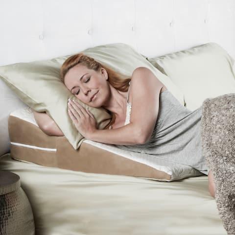 Avana Queen-size Memory Foam Wedge Pillow
