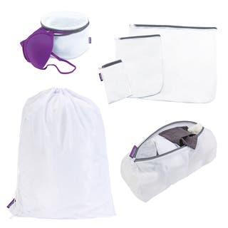 Woolite Sanitized 6-piece Mesh Bag Set|https://ak1.ostkcdn.com/images/products/12038358/P18909935.jpg?impolicy=medium
