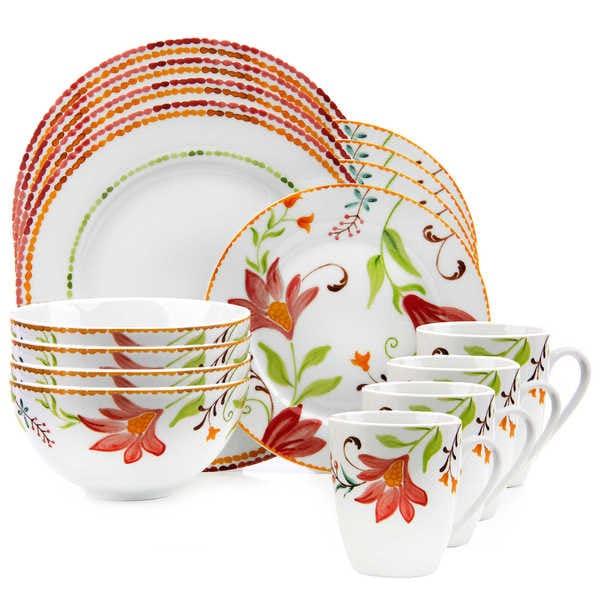 Oneida Italian Cypress 16 Piece Dinnerware Set Free
