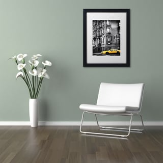 Philippe Hugonnard 'NYC Yellow Cab' Matted Framed Art
