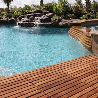 Solid Oiled Teak Wood Bare Decor Interlocking 9-slat Flooring Tiles (Pack of 10)|https://ak1.ostkcdn.com/images/products/12038468/P18910048.jpg?impolicy=medium