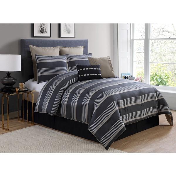 VCNY Indigo 8-piece Comforter Set