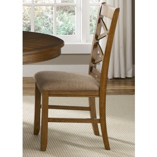 Bistro Honey Brown x Back Dining Chair