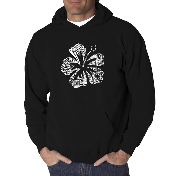 Mens Black/Grey Cotton/Polyester Mahalo Hooded Sweatshirt by  2020 Sale