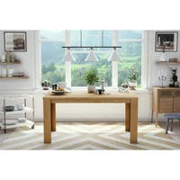 Dorel Living Weston Block Leg Dining Table