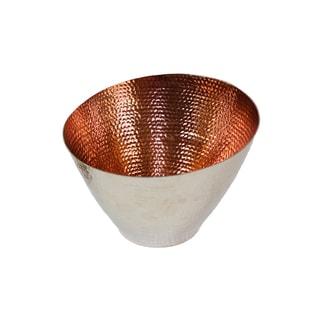 Hammered Copper Medium Bowl